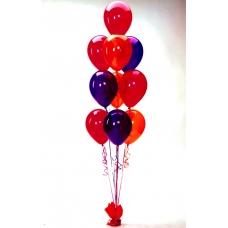 Фонтан из 10 шаров