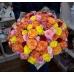 51 Роза эквадор микс