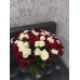 101 роза Россия 40см