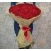 51 роза Эквадор 70см