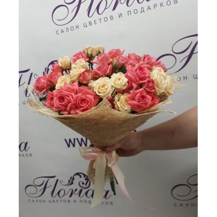 Розы Кустовые 15 шт