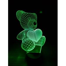 3D Светильник-ночник №5