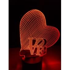 3D Светильник-ночник №4