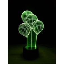 3D Светильник-ночник №8