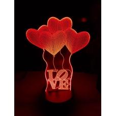 3D Светильник-ночник №2