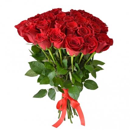 25 красных роз 40см.=1750, 50см=1999, 60см=2750