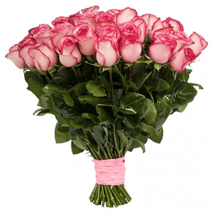 """25 роз  """"карусель"""""""