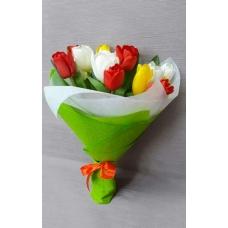 милые тюльпаны 15шт